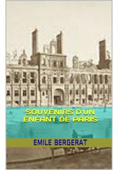 souvenirs d'un enfant de paris - Couverture Ebook auto édité