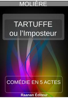 Tartuffe ou l'Imposteur - Couverture Ebook auto édité