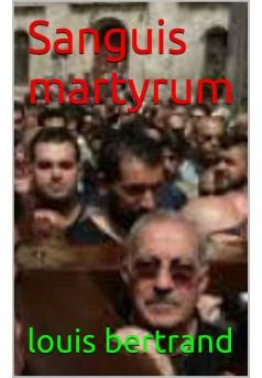 sanguis martyrum - Couverture Ebook auto édité