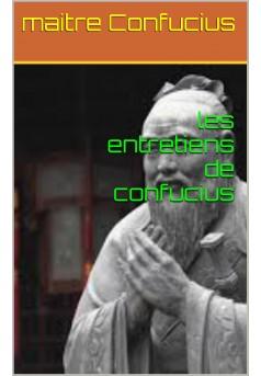 LES ENTRETIENS DE CONFUCIUS  - Couverture Ebook auto édité