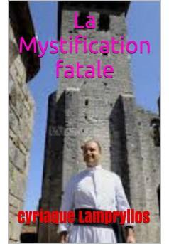 la mystification fatale  - Couverture Ebook auto édité