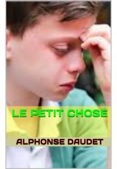 LE PETIT CHOSE - Couverture Ebook auto édité