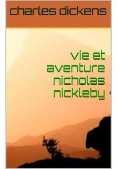 nicolas nickleby - Couverture Ebook auto édité