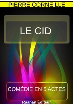 Le Cid - Couverture Ebook auto édité