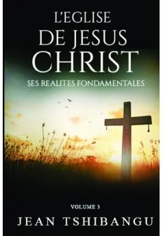 L'EGLISE DE JESUS CHRIST - Couverture de livre auto édité
