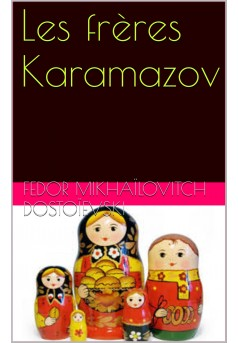 les freres karamazov - Couverture Ebook auto édité