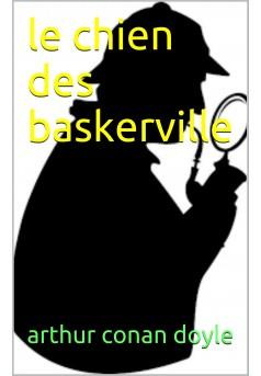 le chien des baskerville - Couverture Ebook auto édité