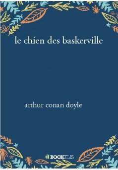 le chien des baskerville - Couverture de livre auto édité