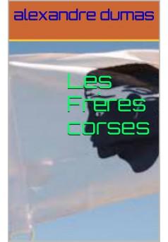 les freres corse  - Couverture Ebook auto édité
