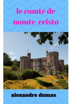 le comte de monte -cristo  - Couverture Ebook auto édité