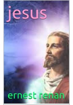 jesus - Couverture Ebook auto édité