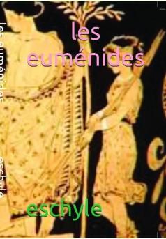 les euménides. - Couverture de livre auto édité
