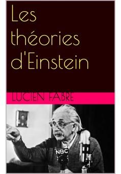 les théorie d'einstein - Couverture Ebook auto édité