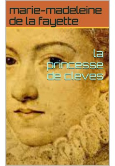 la princesse de clèves - Couverture Ebook auto édité