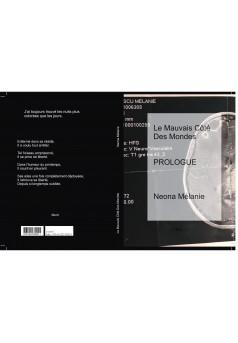 Le Mauvais Côté Des Mondes - Couverture Ebook auto édité