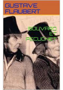 bouvard et pecuchet - Couverture Ebook auto édité