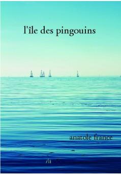 l'île des pingouins  - Couverture de livre auto édité