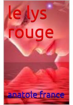 le lys rouge - Couverture Ebook auto édité