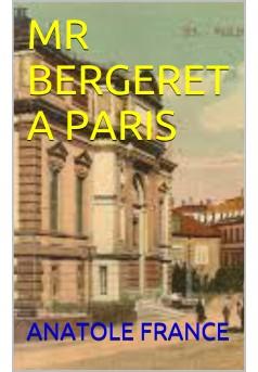 monsieur bergeret a paris  - Couverture Ebook auto édité