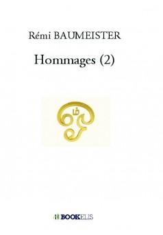 Hommages (2) - Couverture de livre auto édité