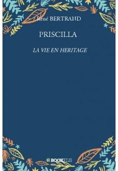 PRISCILLA - Couverture de livre auto édité