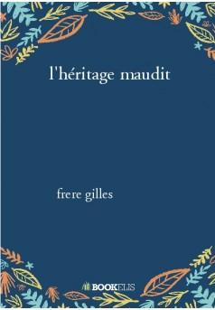 l'héritage maudit - Couverture de livre auto édité