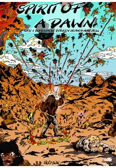 Spirit of a Dawn - Tome 3 - Couverture Ebook auto édité