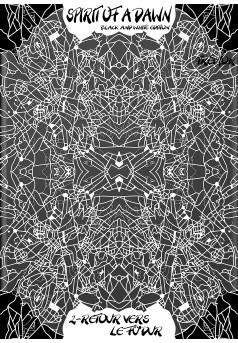 Spirit of a Dawn BW edition - Tome 2 - Couverture Ebook auto édité