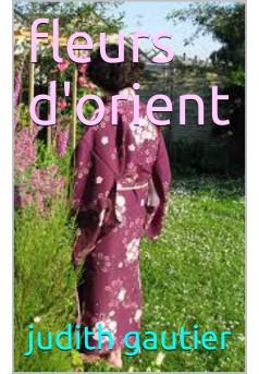 fleurs d'orient - Couverture Ebook auto édité
