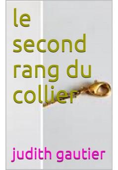 le second rang du collier - Couverture Ebook auto édité