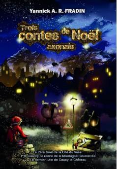 Trois contes de Noël axonais - Couverture Ebook auto édité
