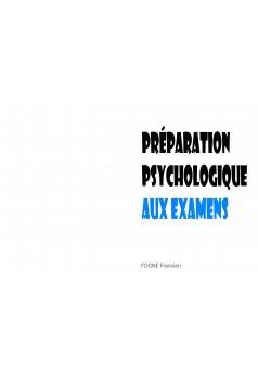 PREPARATION PSYCHOLOGIQUE - Couverture Ebook auto édité