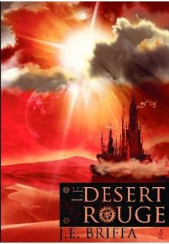 Le désert rouge - Couverture de livre auto édité