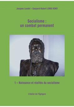 Socialisme : un combat permanent - Couverture Ebook auto édité
