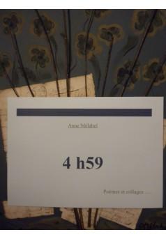4h59 - Couverture Ebook auto édité