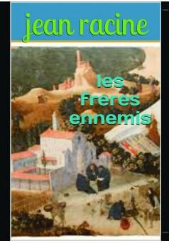 les frères ennemis - Couverture de livre auto édité