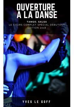 Ouverture à la danse - Couverture Ebook auto édité