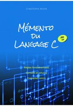 Mémento du langage C - Couverture Ebook auto édité