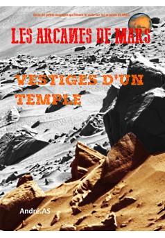 LES ARCANES DE MARS : VESTIGES D'UN TEMPLE - Couverture Ebook auto édité