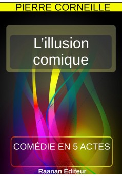 L'illusion comique - Couverture Ebook auto édité