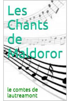 les chants de maldoror - Couverture de livre auto édité