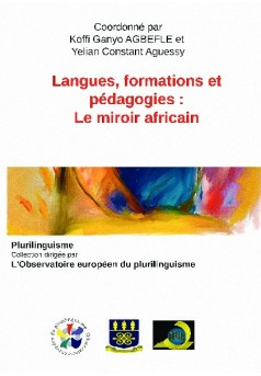 Langues, formations et pédagogies :  le miroir africain  - Couverture de livre auto édité