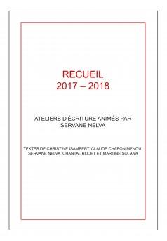 RECUEIL 2017 - 2018 - Couverture Ebook auto édité