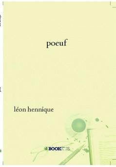 poeuf - Couverture de livre auto édité