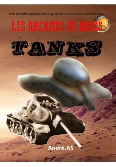 LES ARCANES DE MARS : TANKS - Couverture Ebook auto édité