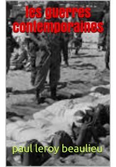 les guerres contemporaines - Couverture de livre auto édité