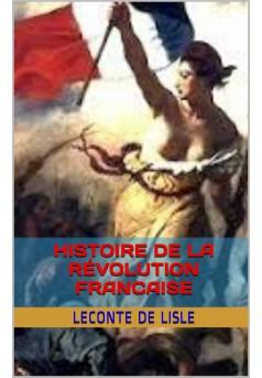 Histoire populaire de la Révolution française - Couverture de livre auto édité