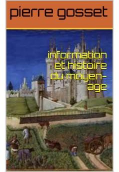 l histoire du moyen -age - Couverture Ebook auto édité