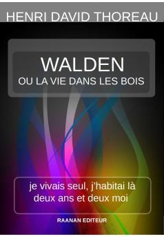Walden ou la vie dans les bois - Couverture Ebook auto édité