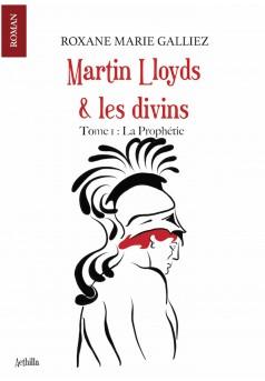 Martin Lloyds et les divins - Couverture Ebook auto édité